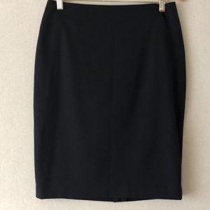 Jones New York Navy Washable WoolPencil Skirt Sz 4